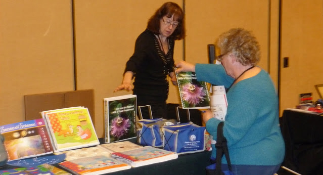 Photo of Exhibit Hall - CAPVI Table