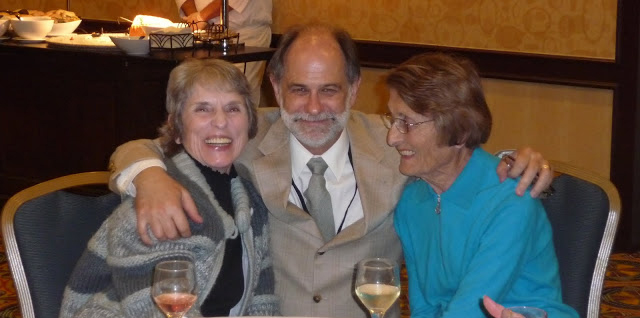 Photo of Grant, Peggy Schuetz and Ann Kelt