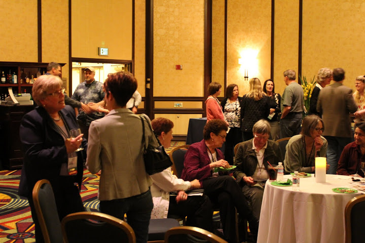 Photo of Members attending Welcome Reception