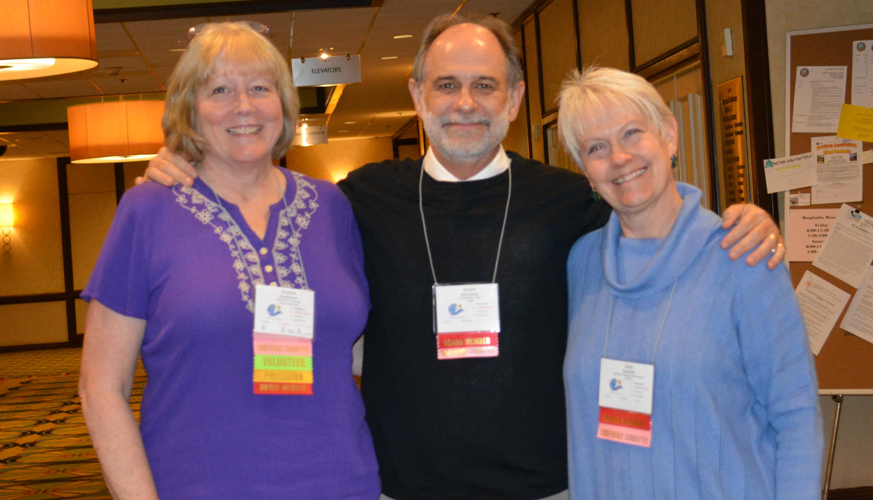 Photo of Sharon Anderson, Grant Horrocks and Vicki Garrett