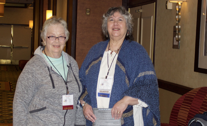 Photo of Maureen Reardon and Joanie Treptow