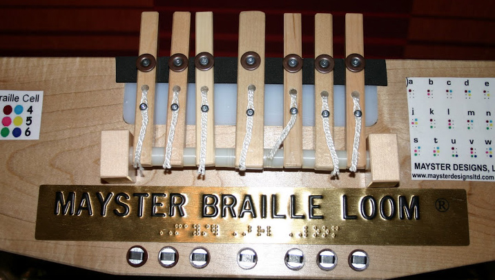 Photo of Braille Loom