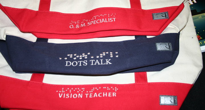 Photo of Bags with Braille