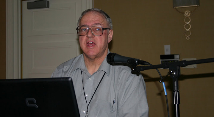 Photo of Bob Stepp in a Workshop