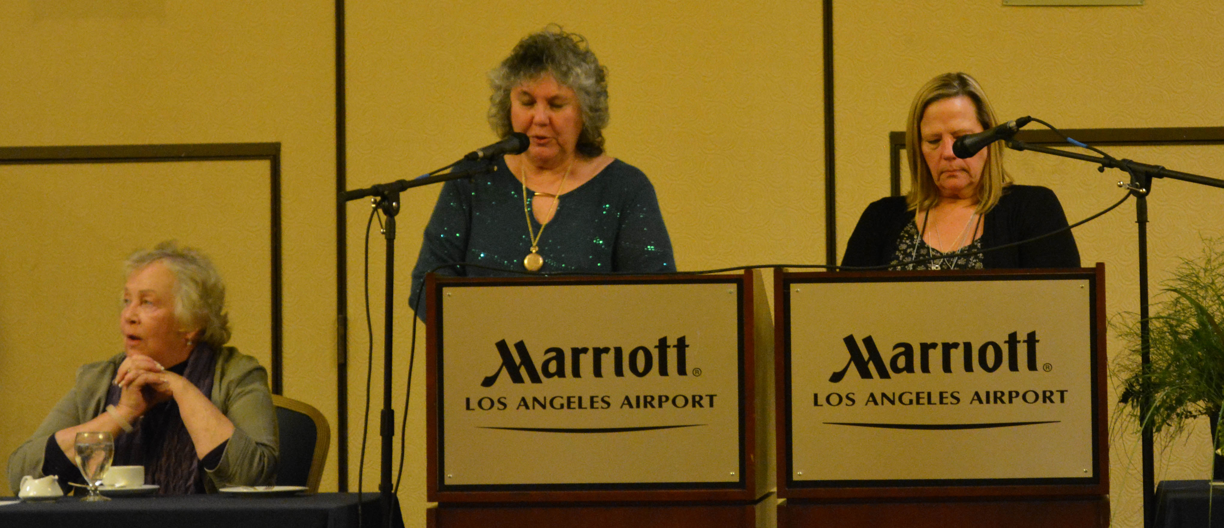 Photo of Joan Treptow and Judi Biller